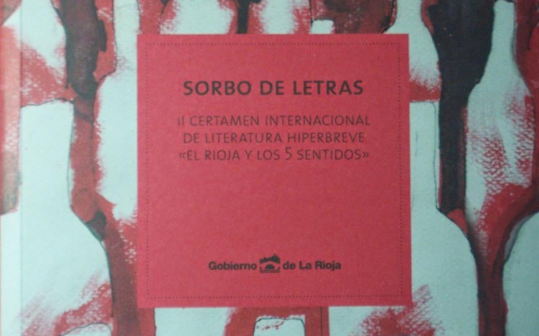 SECCIÓN LIBROS. SORBO DE LETRAS