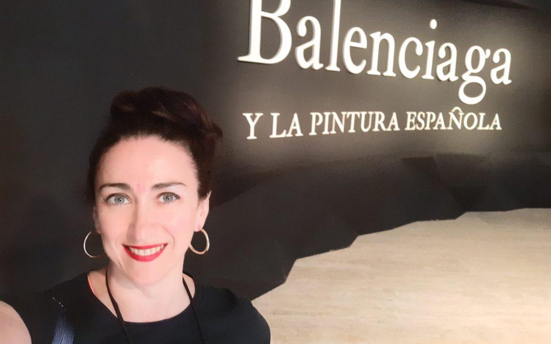 SECCIÓN  HOY RECOMIENDO. BALENCIAGA Y LA PINTURA