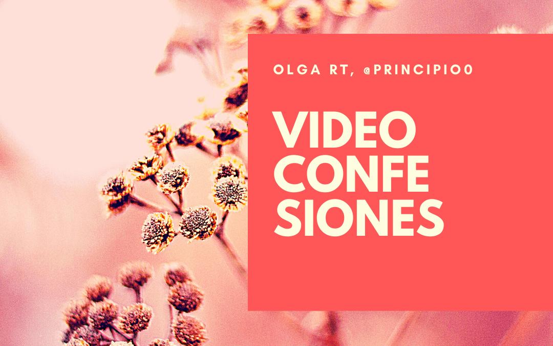 VÍDEO CONFESIONES